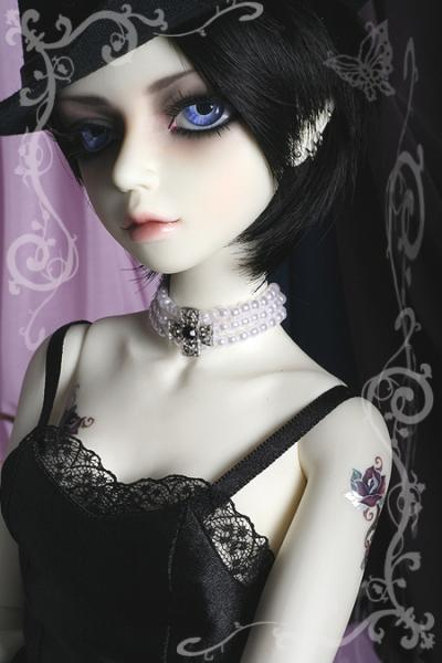 картинки готических кукол с короткими волосами экранизации