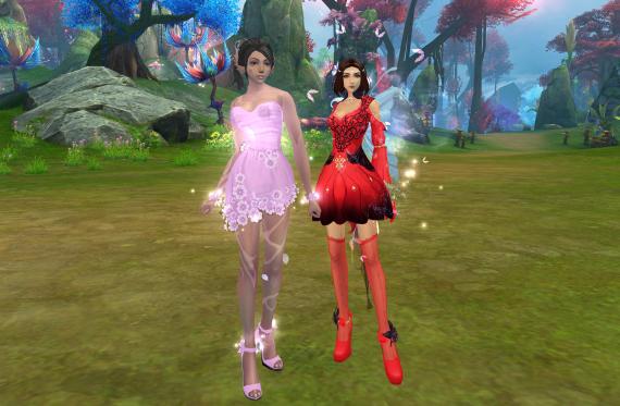 Платье в новых землях